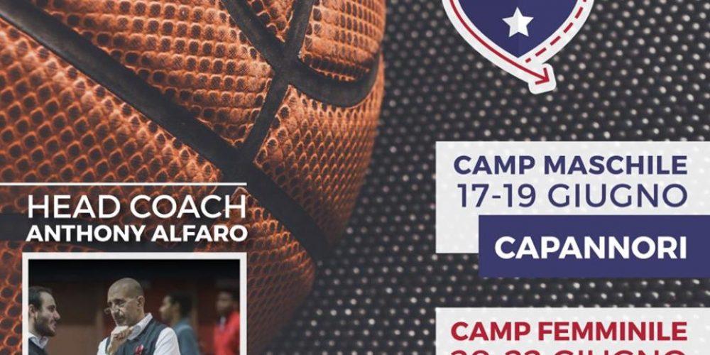 Camp maschile e femminile in inglese con allenatore americano. Ecco i #Fullcourtcamp